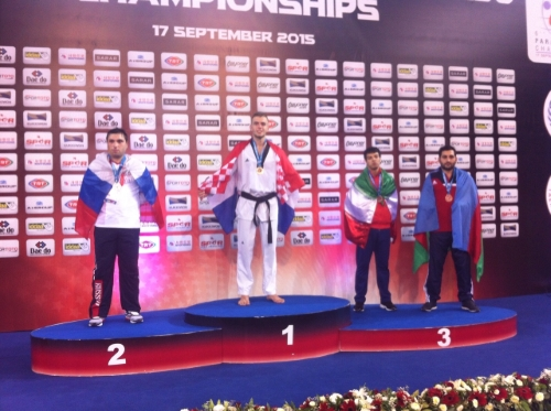 Ivan Mikulić - Svjetski prvak u para-taekwondou