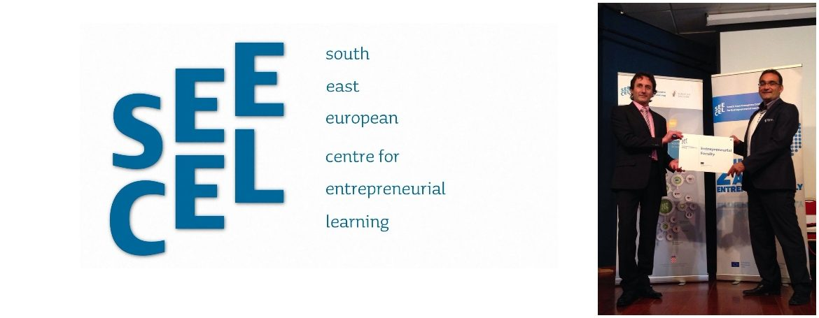 "SEECEL has awarded the Faculty of Kinesiology in Split ""Entrepreneurial award"""