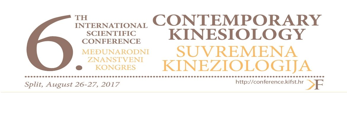 "Welcome to the 6th ISC ""Contemporary Kinesiology"""