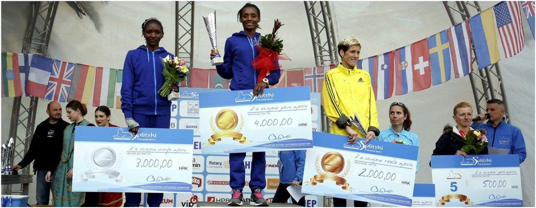 Na Splitskom polumaratonu profesorica KIF-a osvojila 5. mjesto