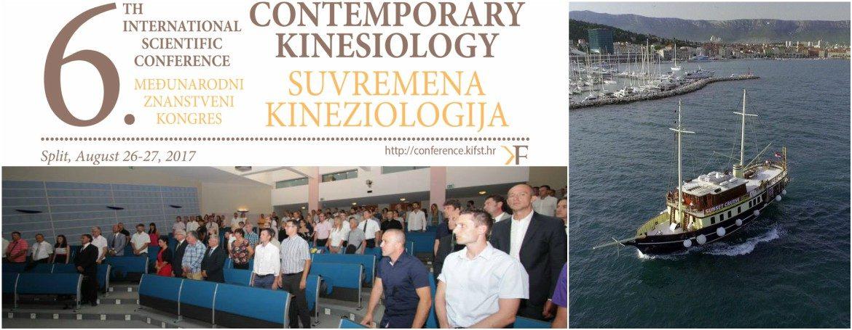 6. međunarodni znanstveni kongres Contemporary Kinesiology