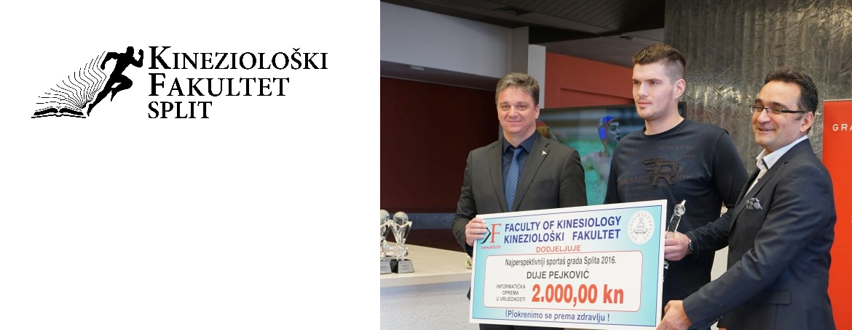 Kineziološki fakultet informatičkom opremom nagradio najperspektivnije sportaše grada Splita