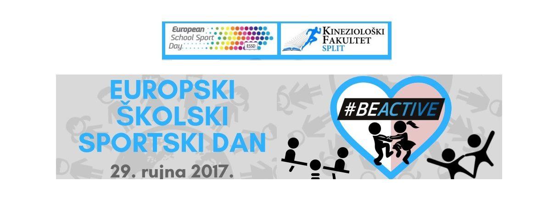 Europski školski sportski dan (Europski tjedan sporta – 23. rujna 2017 do 30. rujna 2017)
