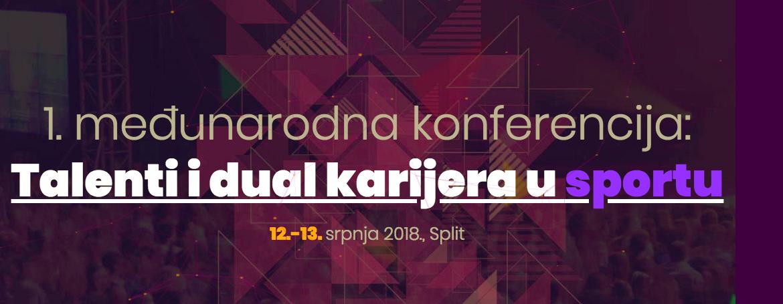 1. međunarodna konferencija: Talenti i dual karijera u sportu