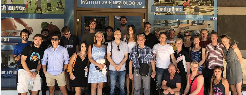 Studenti iz USA i nastavnici TZK iz Finske na Institutu  za kineziologiju u Splitu